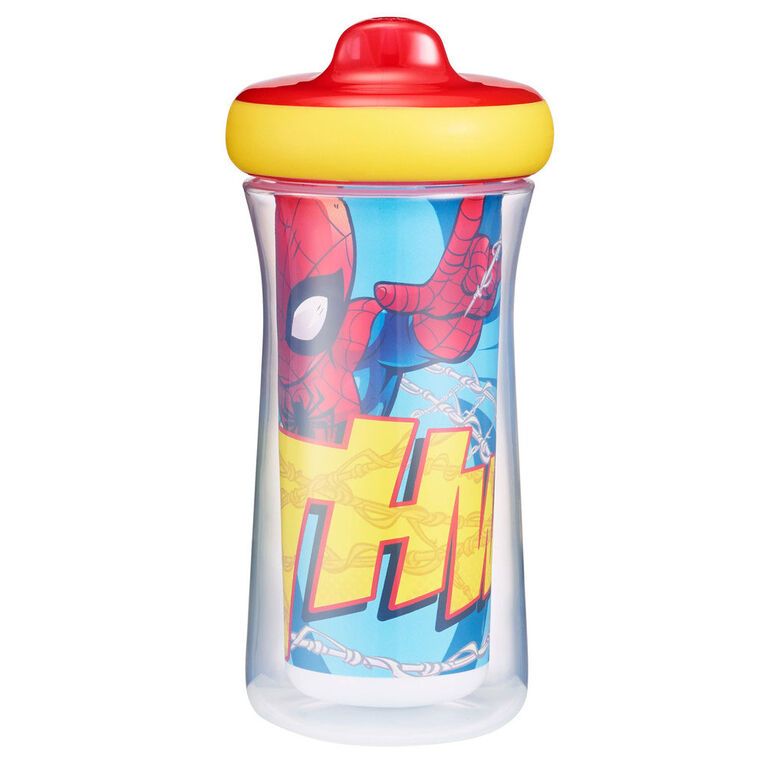 The First Years Marvel  ImaginAction Insulated Hard Spout Sippy Cup 9 Oz