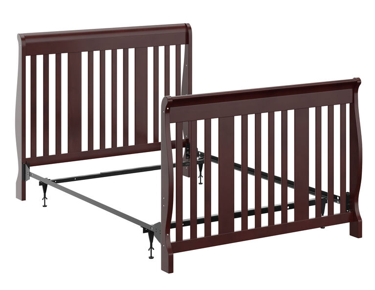 Storkcraft Full Size Crib Conversion, Baby Cribs That Convert To Queen Beds
