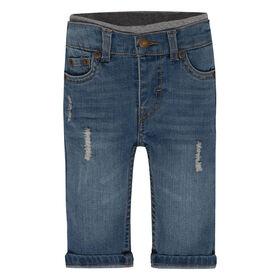 Levis Pantalon en Denim- Bleu, 18 Mois