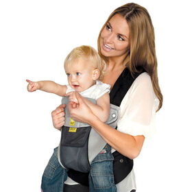 LILLEbaby 6-Position COMPLETE Airflow Baby & Child Carrier - Charcoal Silver