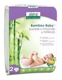Couches Bambou Baby de Aleva Naturals, taille 2.