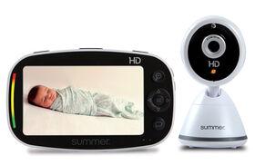 Moniteur vidéo haute définition à écran de 12,7cm (5po) Zoom HDMC de Baby PixelMD  Summer Infant - En précommande! Expédition: 26 Aout.
