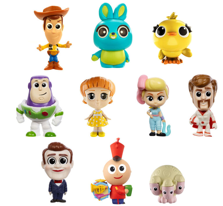 Disney Pixar Toy Story 4 Pack de 10 Mini-figurines à collectionner.