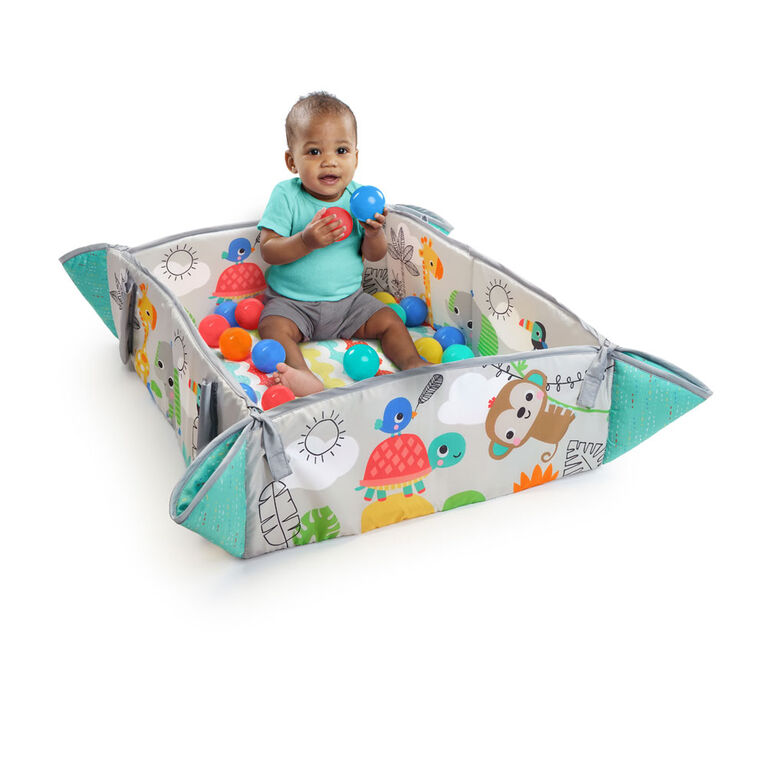 Bright Starts™ 5-in-1 Your Way Ball Play™ Activity Gym & Ball Pit - Totally Tropical™