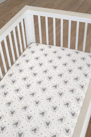 Just Born Counting Sheep Collection Crib Sheet