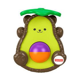 Fisher-Price Avocado Bat-at-Bear - English Edition