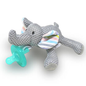 "babyworks Pacifier Friend with Pacifier - ""Elly"" Elephant"
