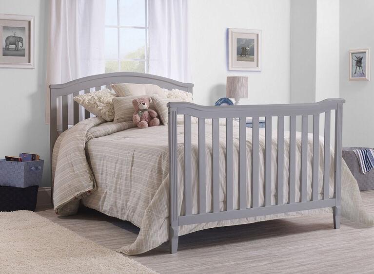Sorelle Berkley 4 In 1 Convertible Crib Grey Babies