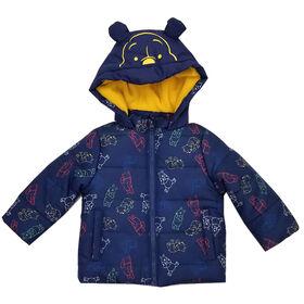 Baby Boy Winnie The Pooh Puffer Jacket 3 Months