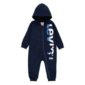 Levis Coverall - Blue, 0-3 Months to Newborn