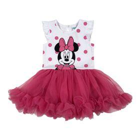 Disney Minnie Mouse Cupcake Dress - Pink, 9 Months