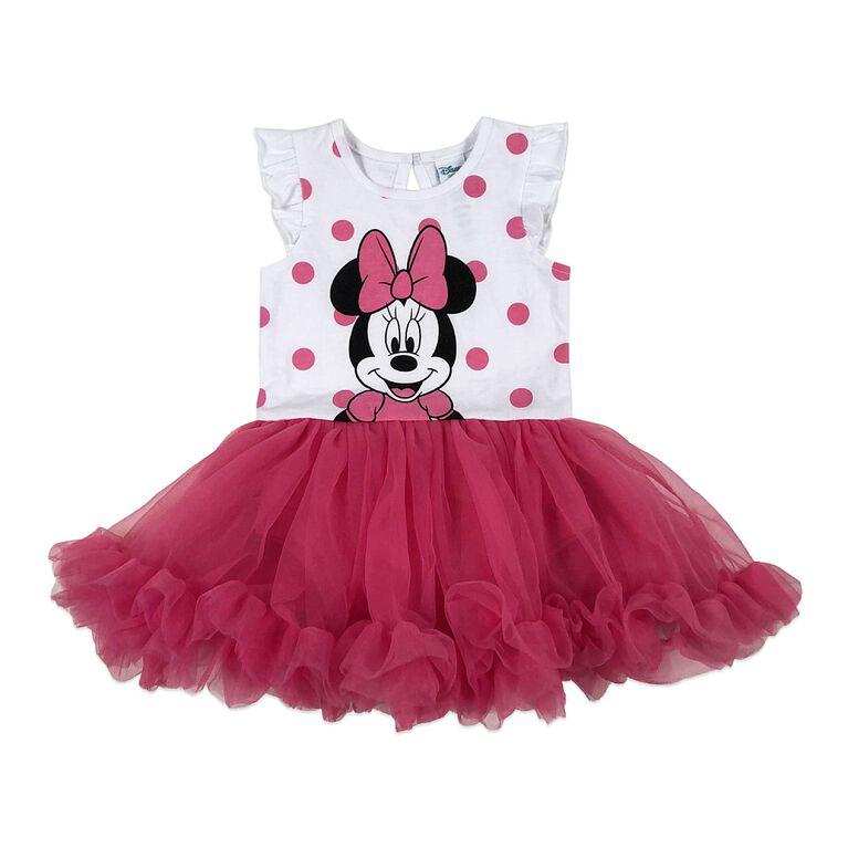 Disney Minnie Mouse Robe - rose, 18 mois.