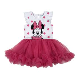 Disney Minnie Mouse Cupcake Dress - Pink, 24 Months