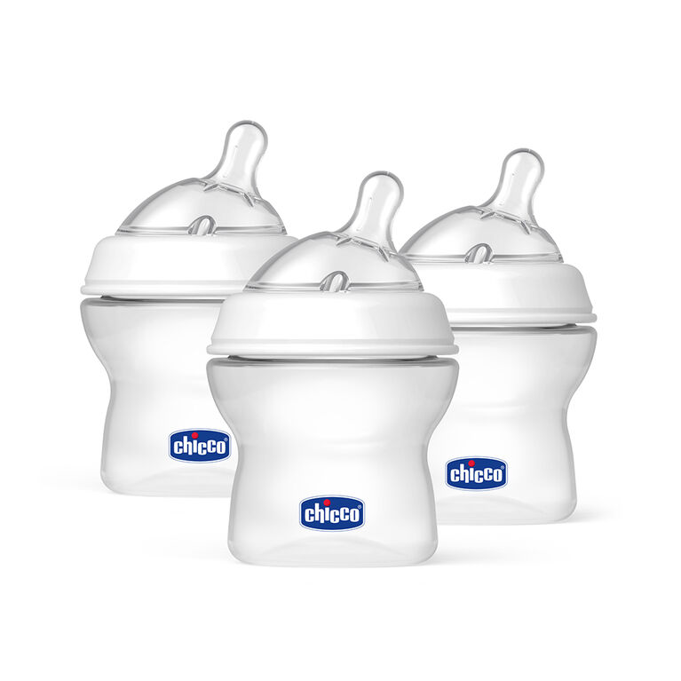 Chicco NaturalFit Tri-Pack 5 oz. Bottles 0 Months+