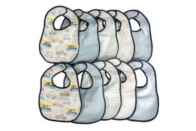 Koala Baby 10 Pack Terrycloth Bibs