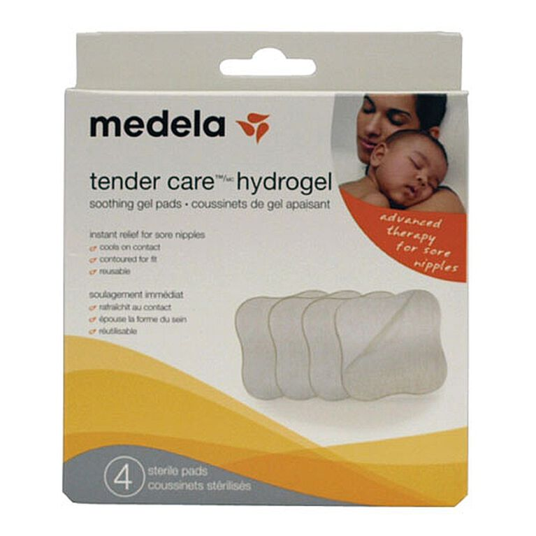 Coussinets Tender Care Hydrogel Medela.