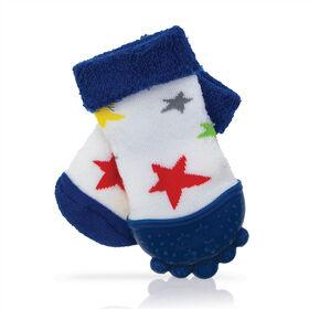 Nuby Teether Sock - Stars - English Edition