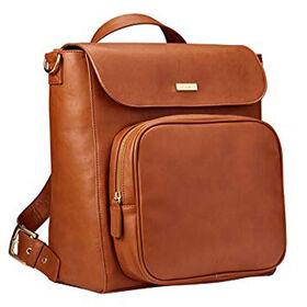 JJ Cole Brookmont Backpack Baby Diaper Bag - Cognac