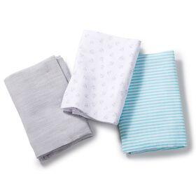 Summer Infant SwaddleMe Premium Muslin Swaddle Blankets - Anchors