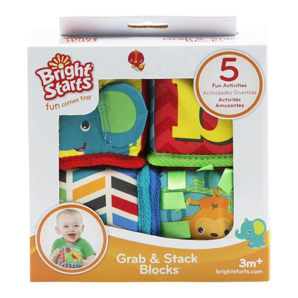 Bright Starts Cubes Grab /& Stack