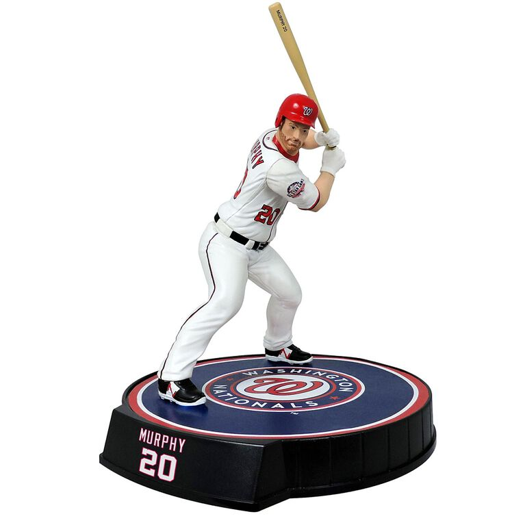 Daniel Murphy Nationals de Washington Figurine de baseball de 6 pouces.