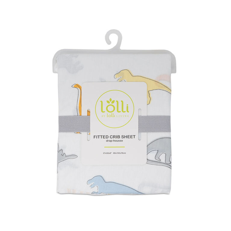 Lolli by Lolli Living Fitted Sheet - Dino Land