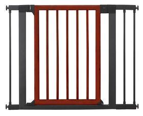 Barrière de sécurité déco bois et acier de Brica - Notre exclusivité