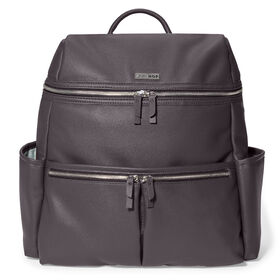 Skip Hop Flatiron Diaper Backpack - Grey Raisin