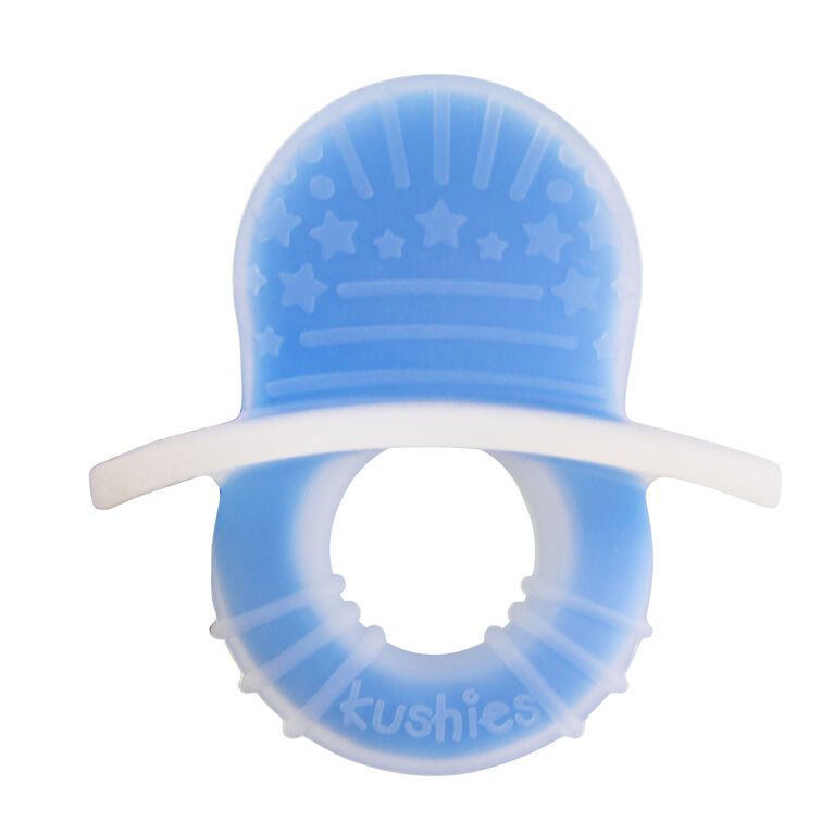 Kushies Silisoothe Silicone Teether - Azure