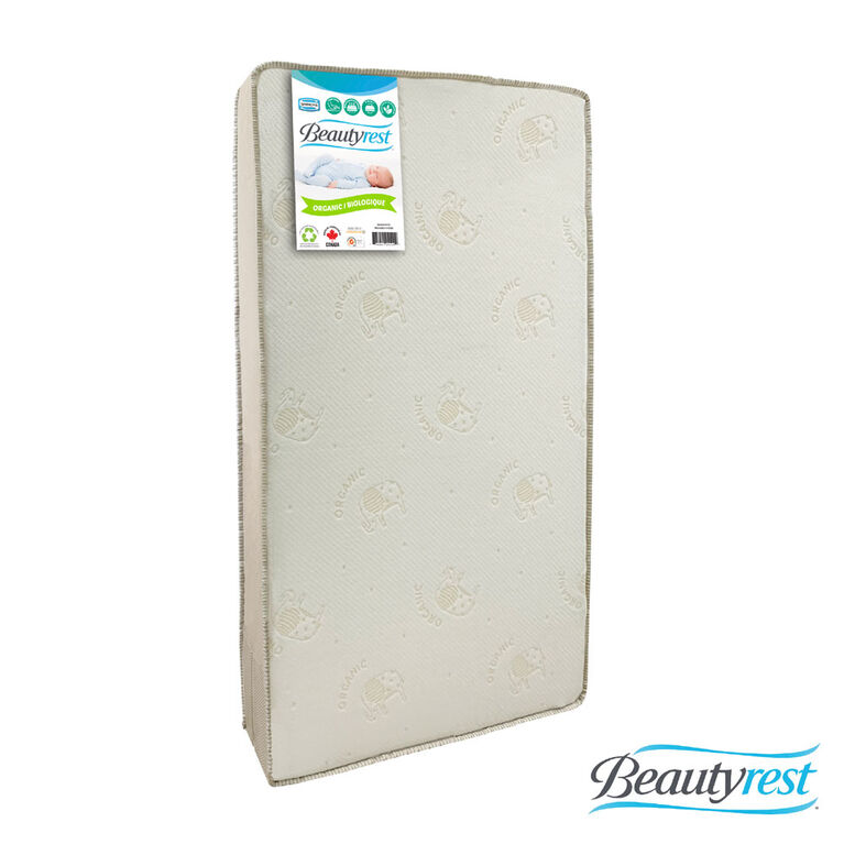 Simmons 2 Stage Firm Crib Mattress with Organic Cover
