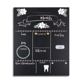 The Peanutshell Milestone Monthly Keepsake Chalkboard