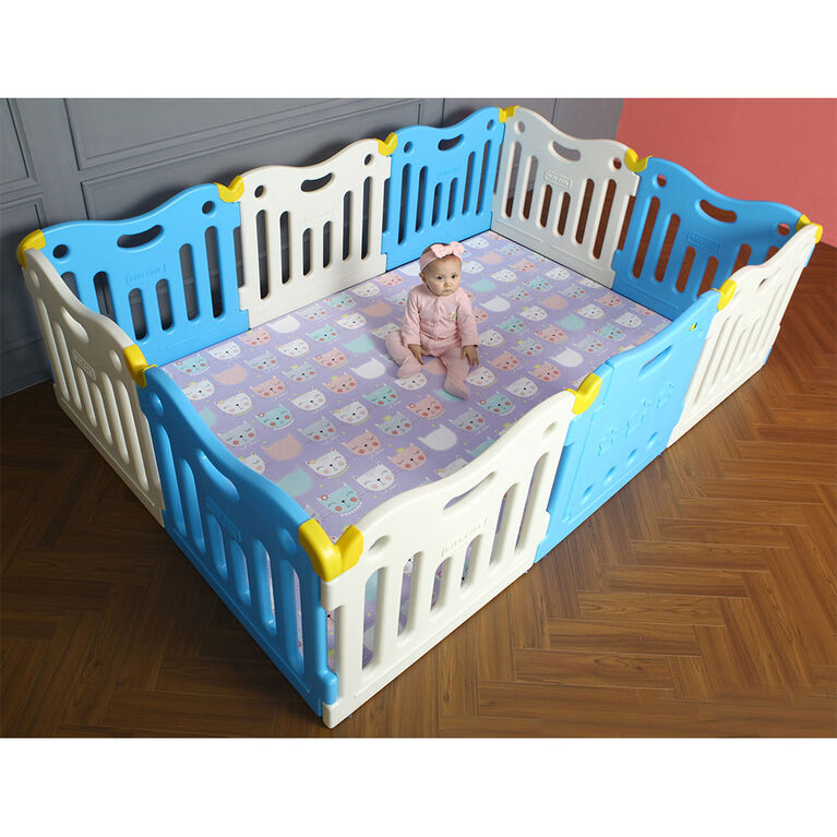 BabyCare Funzone Playpen  - Sky Blue
