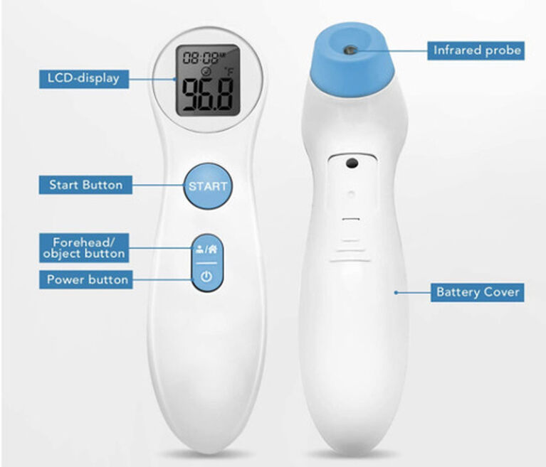 wellworks Non-Contact Infrared Thermometer