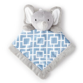 Levtex Security Blanket - Baby Grey Elephant