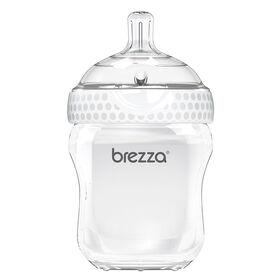 Biberon en polypropylene, 9 oz de Baby Brezza - Blanc.