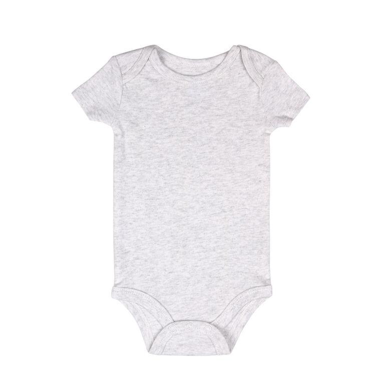 Koala Baby 4 Pack Short Sleeved Bodysuit, Born To Shine, 0-3 Months