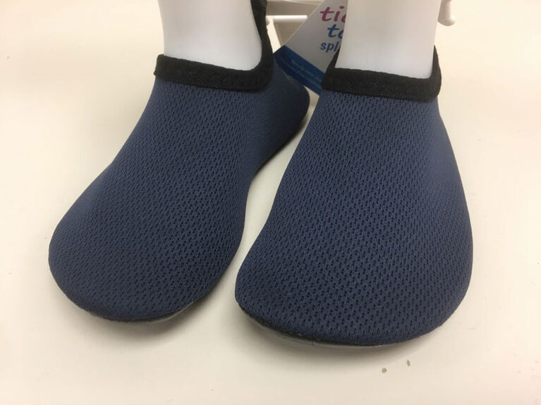 Tickle-toes Navy Boy Aqua Shoes Size 7