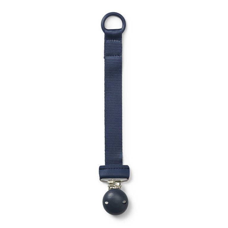 Elodie Details Juniper Blue Wood Pacifier Clip