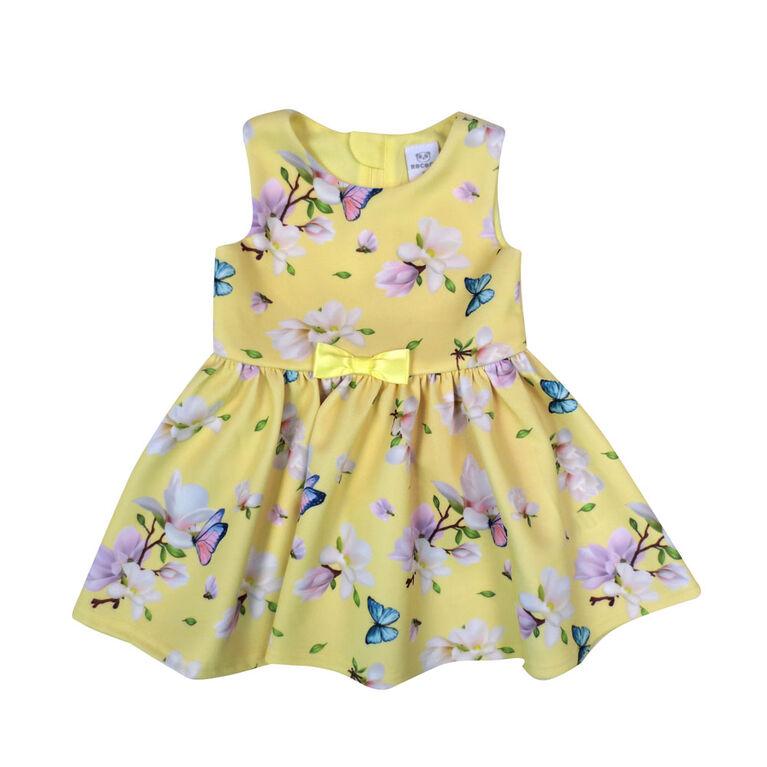 Rococo Hi Low Dress - Yellow, 12 Months
