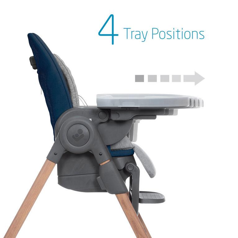 Chaise haute Minla de Maxi-Cosi - Essential Blue
