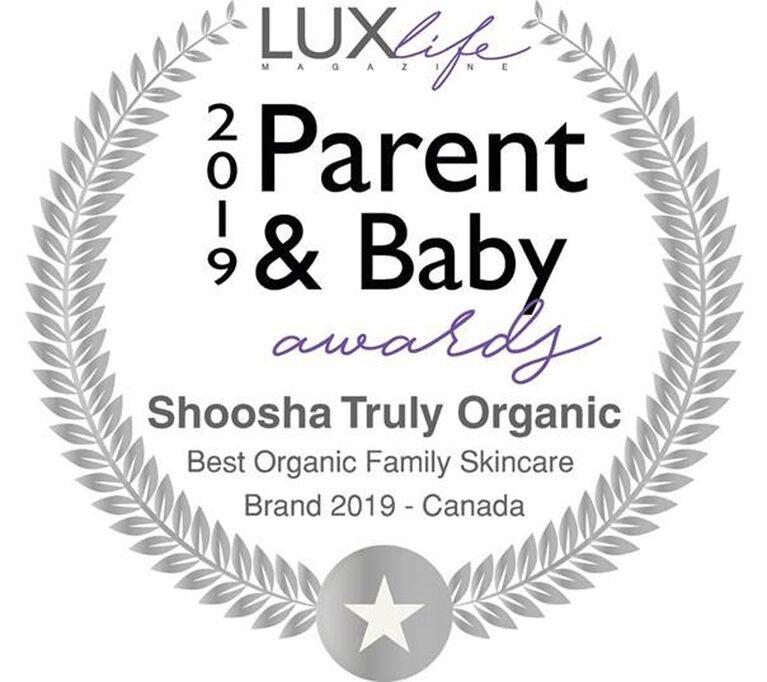 Shoosha Savon & Shampooing Biologique pour Bébés à Peau Sensible - Lavande Vanille.