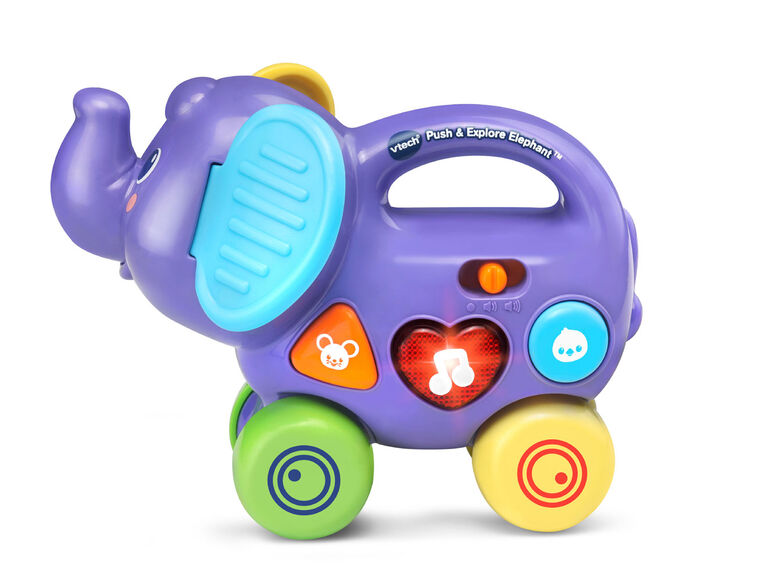 VTech Push and Explore Elephant - English Edition
