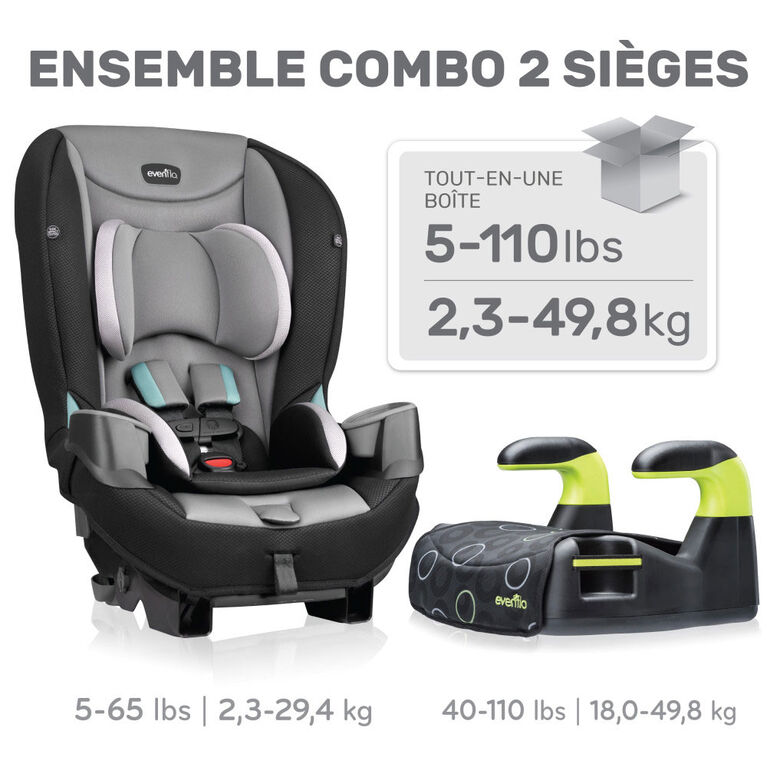 Evenflo Generations + Big Kid Amp 2-Seat Combo - R Exclusive