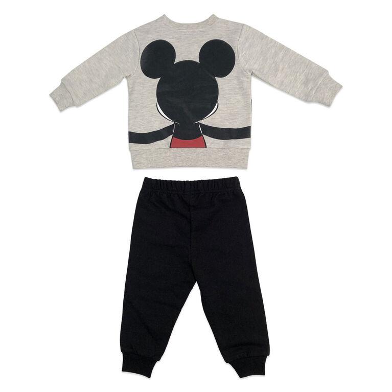 Disney Mickey Mouse ensemble pantalon et haut en polaire - Avoine, 18 mois