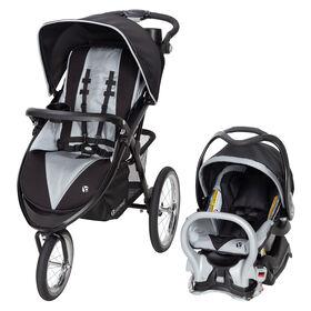 Baby Trend Système de voyage de jogging de luxe Expedition Premiere - Ashton - Notre exclusivité