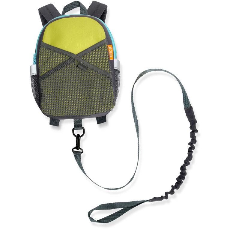 Brica By My Side - Sac à dos avec harnais de sécurité - vert.