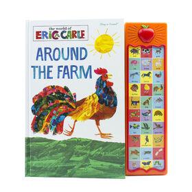 Livre module Apple par Eric Carle Around the Farm (Autour de la ferme)