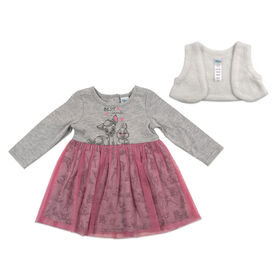 Disney Bambi 2pc Dress Set - Pink, 12 Months