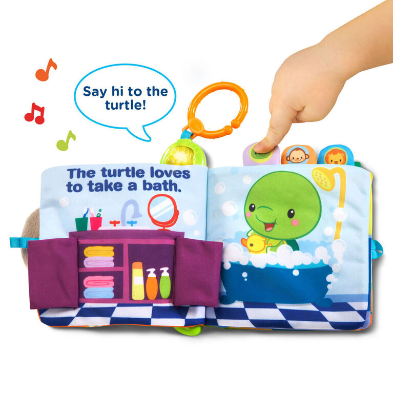 Peek & Play Baby Book - English Edition