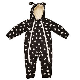 Baby Boy Mickey Mouse Puffer Snowsuit 12 Months